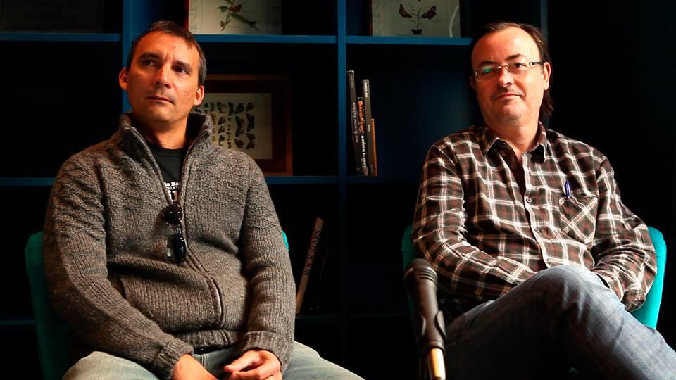 Presentación del libro: Manuel Martín Cuenca y Alejandro Hernández