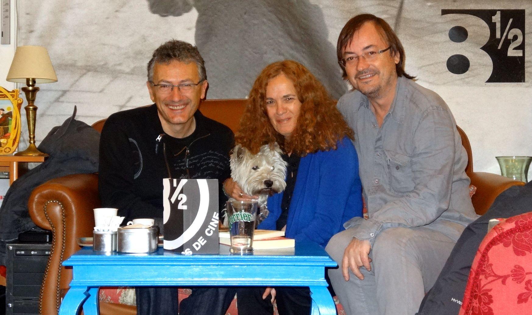 Presentación del libro: Carlos, Maria y Manolo