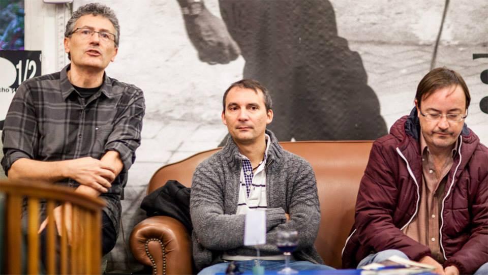 Presentación del libro: Carlos, Alejandro y Manuel